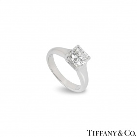 Tiffany & Co. Lucida Cut Diamond Ring 1.61ct H/IF